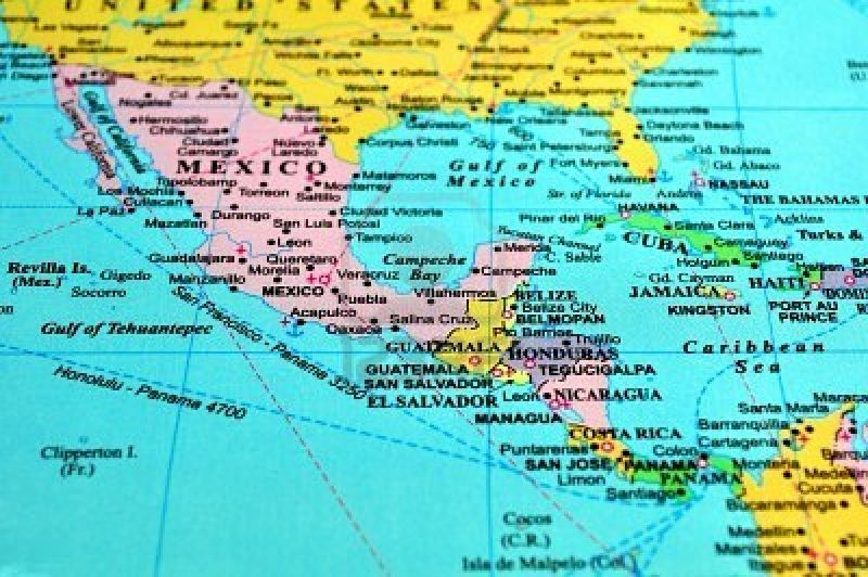 Cartina Politica Centro America.Centro America Decine Le Vittime Delle Alluvioni Protezione Civile Il Giornale Della