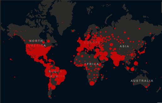 Coronavirus, i morti nel mondo