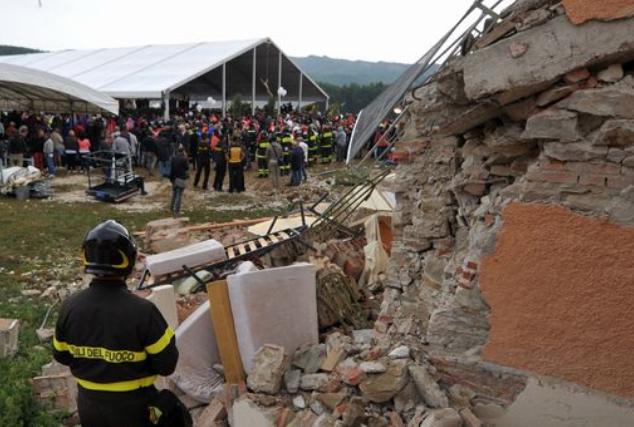 Terremoto, riaperto il ponte Tre Occhi Pirozzi: