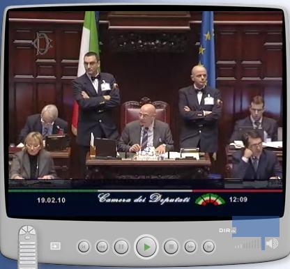 Decreto il governo va sotto alla camera su tre ordini del for Diretta tv camera deputati
