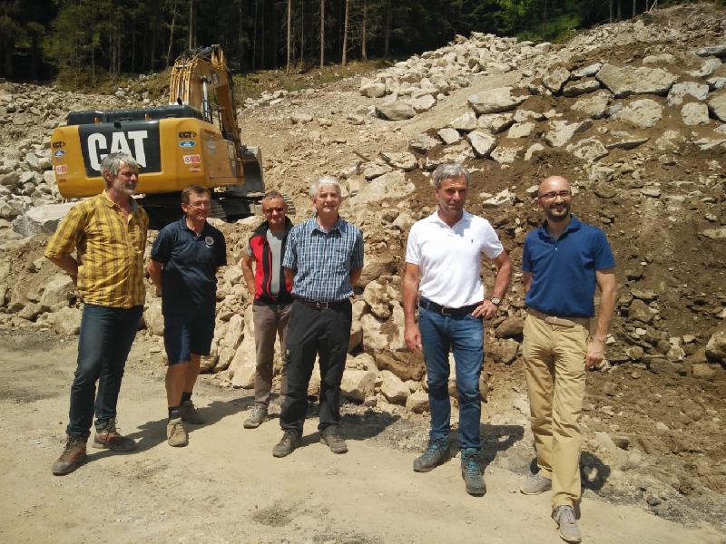 Ufficio Di Direzione Lavori : Val pusteria: lavori in corso per la difesa idrogeologica del