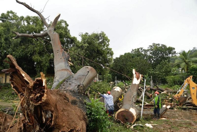 L'uragano Otto ha colpito il sudest del Nicaragua