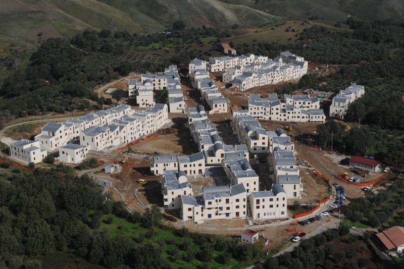 Frana di cerzeto nuove case e il sopralluogo di gabrielli for Finanziamento della costruzione di nuove case