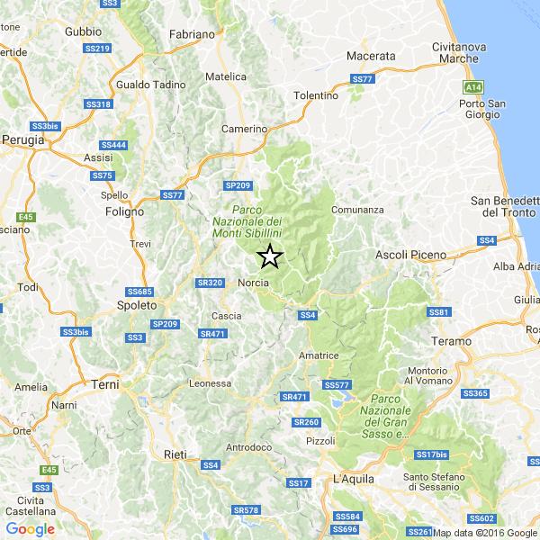 Lieve scossa di terremoto questa mattina tra Faenza e Castel Bolognese